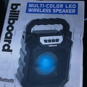 Billboard Bluetooth SPEAKER for Sale in San Diego, CA