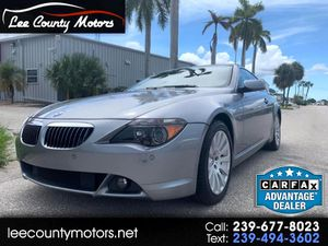 2005 BMW 6-Series for Sale in Cape Coral, FL