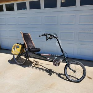 Rans Stratus Recumbent Bicycle for Sale in Apple Valley, CA