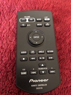 Pioneer indash stereo remote for Sale in Fresno, CA