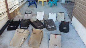 Selling lawn mower bags Craftsman Toro Honda.and John deer and troy bilt for Sale in St. Louis, MO