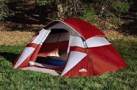 NEW Red Dome Tent Sleeps Up to Three Campers, never opened for Sale in Centreville, VA