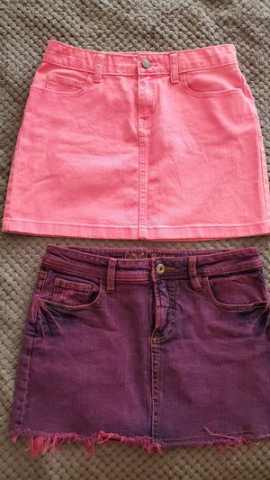 Pink denim skirts $3 EACH both for $5 for Sale in Los Angeles, CA