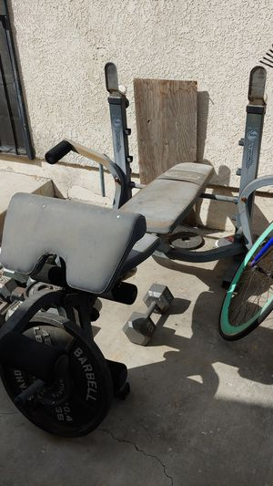 Weights and two benches for Sale in Azusa, CA