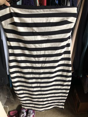 Bebe striped black & white dress for Sale in Fountain Valley, CA
