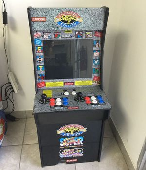Arcade 1Up Video Game Maquina de juego 6658 Street Fighter ll for Sale in Miami, FL