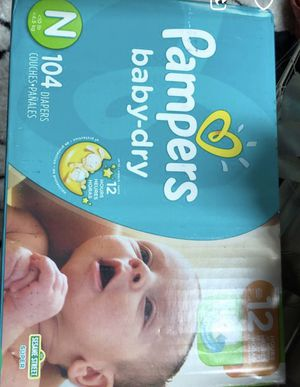 Pampers for Sale in Madison Heights, MI