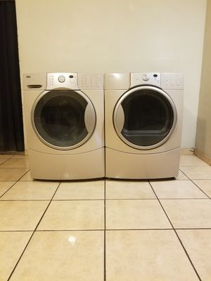 BEAUTIFUL FRONT LOAD KENMORE ELITE WASHER AND ELECTRIC DRYER ...remember the warranty is very important for Sale in Phoenix, AZ