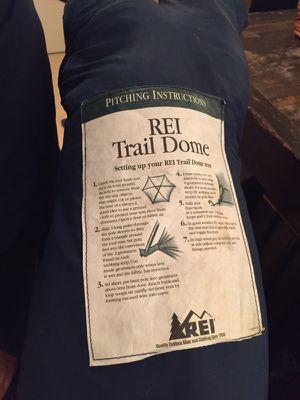 REI TRAIL DOME TENT for Sale in Miami, FL