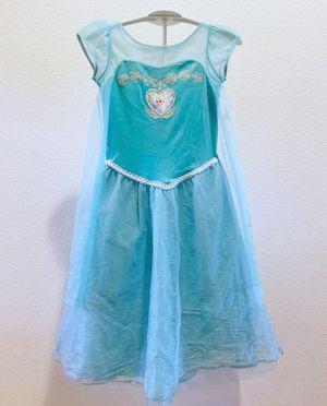 New Disney Frozen Elsa dresses Halloween costume size 6 for Sale in Fontana, CA