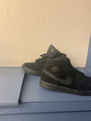 Jordan 1 retro all black for Sale in Aurora, CO