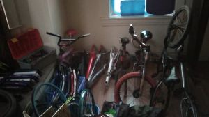 **BIKE PARTS-ALL AND EVERY KIND** buy by piece/pieces or good deal for all. for Sale in Clarksburg, WV
