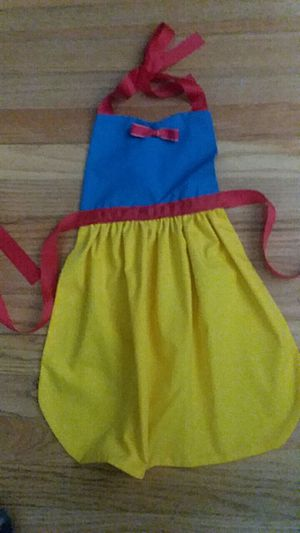 Snow White Dress Up Apron New Handmade for Sale in St. Louis, MO