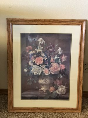 "Large Flower Vase Picture, Size: 31.5"" x 25"" for Sale in Hesperia, CA"