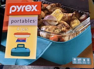 Pyrex: portables - 4 pc set. BRAND-NEW in box! for Sale in Auburn, WA