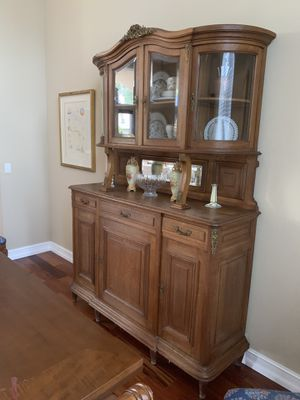 Antique dining room cabinet Buffet Hutch 1800's for Sale in Coral Springs, FL