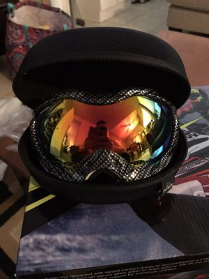 Carbon Fiber Helmet Goggles for Sale in Menifee, CA