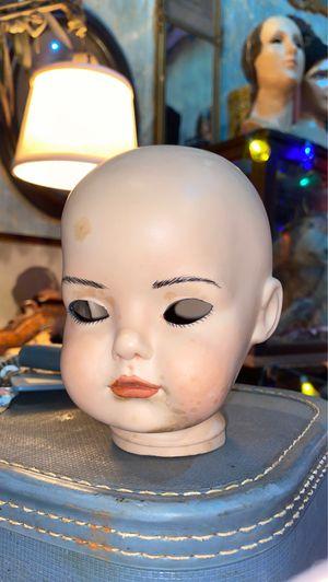 Antique Vintage 1990s Porcelain Baby Doll Head for Sale in Fort Lauderdale, FL