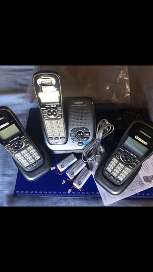 UNIDEN cordless 3 LINE ANSWERING SYSTEM for Sale in Vallejo, CA