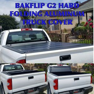 BAKFlip G2 hard folding aluminum truck bed cover (Tonneau Cover) available for most trucks. for Sale in Santa Monica, CA