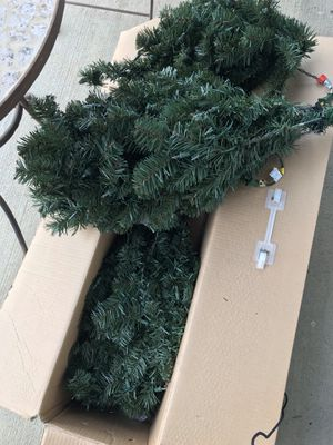 6 foot pre-lit (white lights) Christmas tree for Sale in Nashville, TN