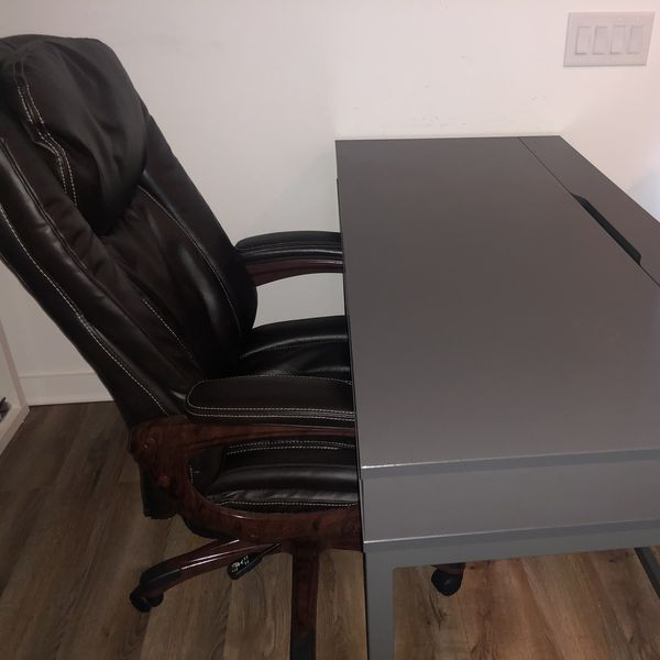 High Back Swivel Black Office Chair