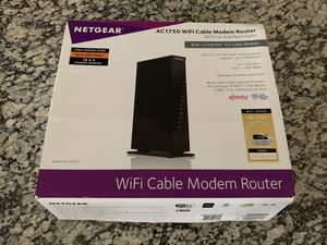 Netgear AC1750 Cable modem/router for Sale in Creedmoor, TX
