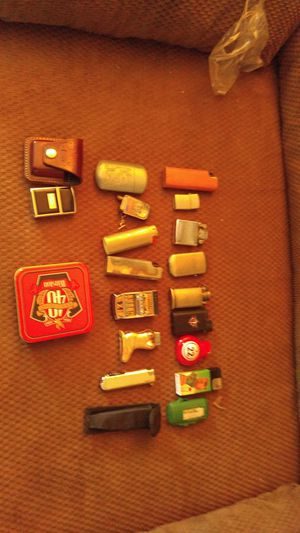 Lots of zippos ,gas and fluid lighters for Sale in Raleigh, NC