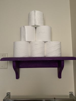Small purple hand painted shelve for Sale in Bend, OR