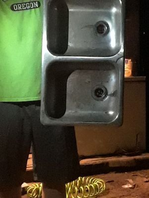 Used double sink from winnebego for Sale in Smiths Station, AL
