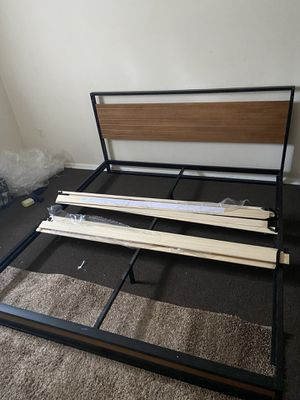 King size bed frame for Sale in Philadelphia, PA