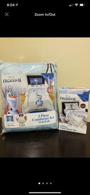 Frozen/OLAF twin bedding set for Sale in Miami, FL