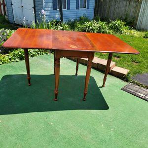Mt Vernon drop leaf gate leg table for Sale in Eddington, PA
