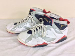 """Rare Air Jordan 7 Retro """"Olympic"""" - 304775 135 Shoes Men's Size 13 for Sale in Severn, MD"""
