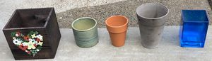 5 Flower Pots for Sale in Waltham, MA