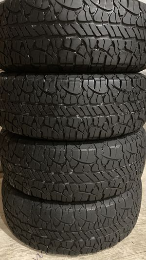 Full set of 265/65/17 BFGOODRICH RUGGED TERRAIN T/A high tread truck, Jeep, suv for Sale in Clearwater, FL