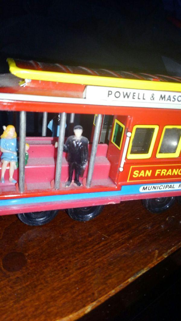 Vintage Toy Trolley (metal) Powell & Mason St. San Fran 28