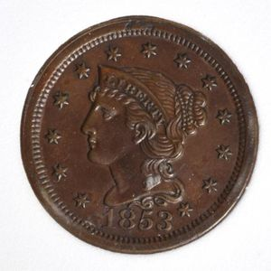 1853 2 Cent Coin for Sale in Laurel, MD