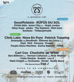 Crssd Festival 2 tickets $500 for Sale in Los Angeles, CA