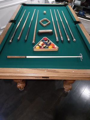 Professional (slate) pool table. for Sale in Silver Spring, MD