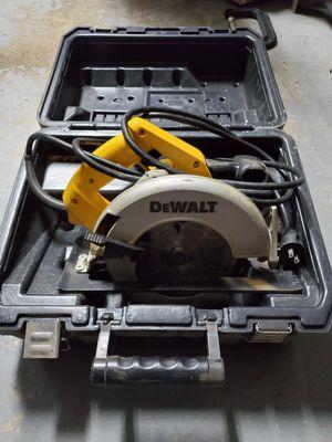 Dewalt skill saw for Sale in Lodi, CA