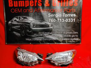 Toyota Yaris iA 2016 - 2020 Headlights OEM for Sale in Riverside, CA
