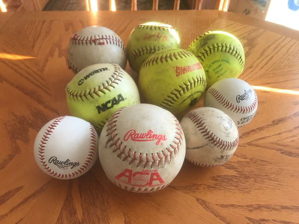 ASA NFHS OFFICIAL SOFTBALLS 12 IN. POLY CORE 47 COR ( R ) LEATHER COVER ASAT2W47L Different types OF SOFTBALLS 🥎