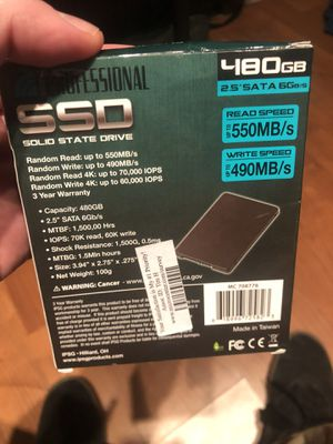Inland Professional solid state drive for Sale in Brighton, CO