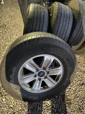 Ford F-150 oem wheels and tires sz 17 for Sale in Renton, WA