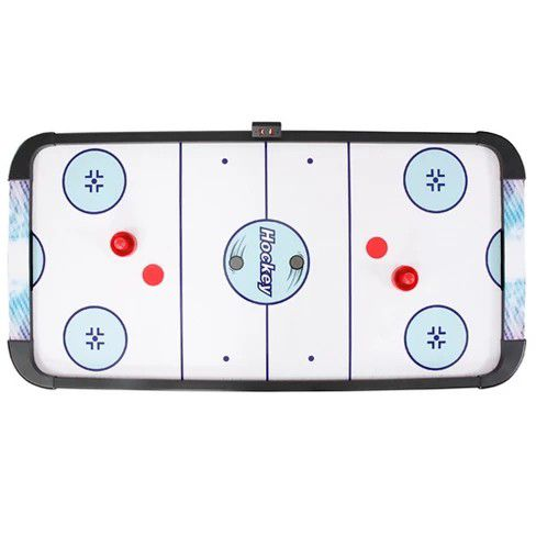 Hathaway Face-Off Air Hockey Table with Electronic Scoring - 5'