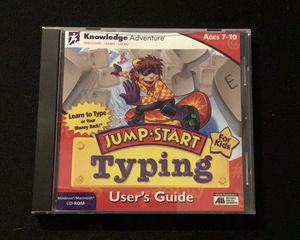 Jump Start Typing old PC game for Sale in Norcross, GA
