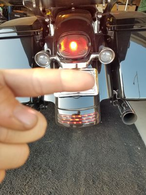 Smoked Harley Davidson Taillight with led Bulb for Sale in Fresno, CA