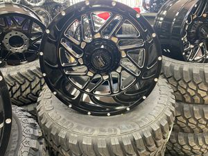 20x10 MONKEY RIMS AND TIRES 33125020 for Sale in Phoenix, AZ