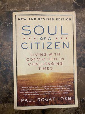 Soul of a Citizen by Paul Roger Loeb for Sale in Boston, MA